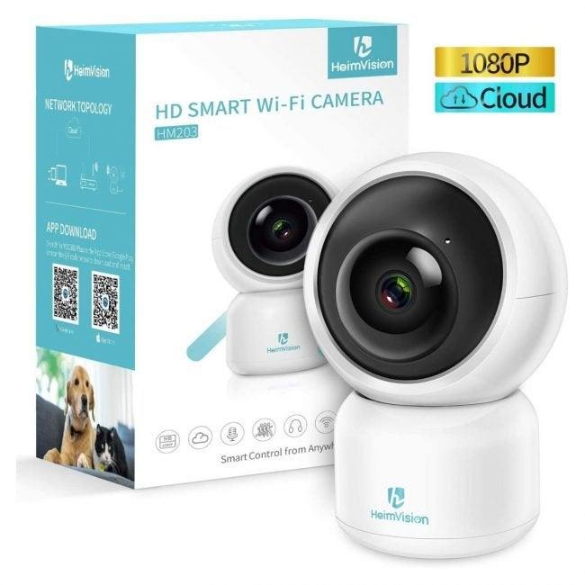 最佳室内家庭安防摄像机选择:海姆vision室内安防摄像机