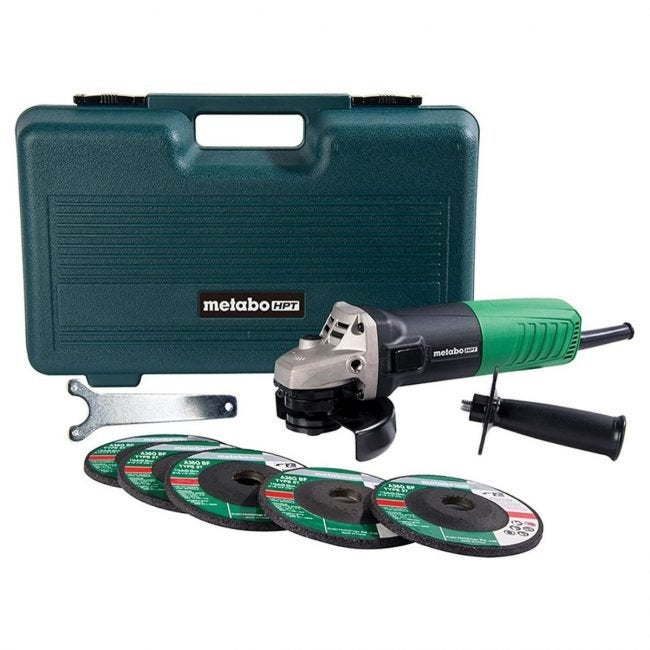 The Best Angle Grinder Option: Metabo HPT Angle Grinder