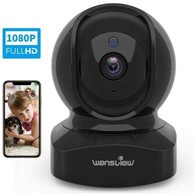 最佳室内主页安全摄像头选项:WANSVIEW无线安全摄像头