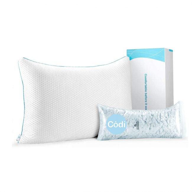 最佳冷却枕选择:Codi混合冷却枕头