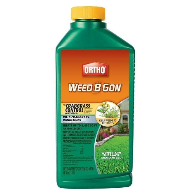 The Best Crabgrass Killer Option: Ortho Weed Be Gon Plus Crabgrass Control Concentrate