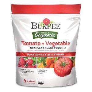 番茄最佳肥料选择:伯比有机番茄和蔬菜食品