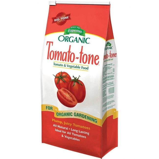 The Best Fertilizer for Tomatoes Option: Espoma Tomato-tone Organic Fertilizer
