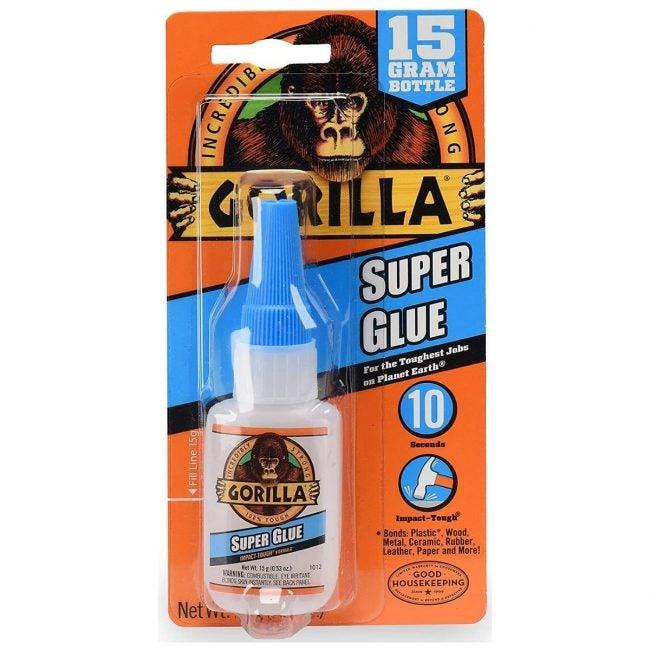 The Best Glue for Plastic Option: Gorilla Super Glue