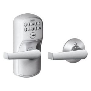 The Best Keypad Door Lock Option: Schlage FE575 PLY 626 ELA Plymouth Keypad