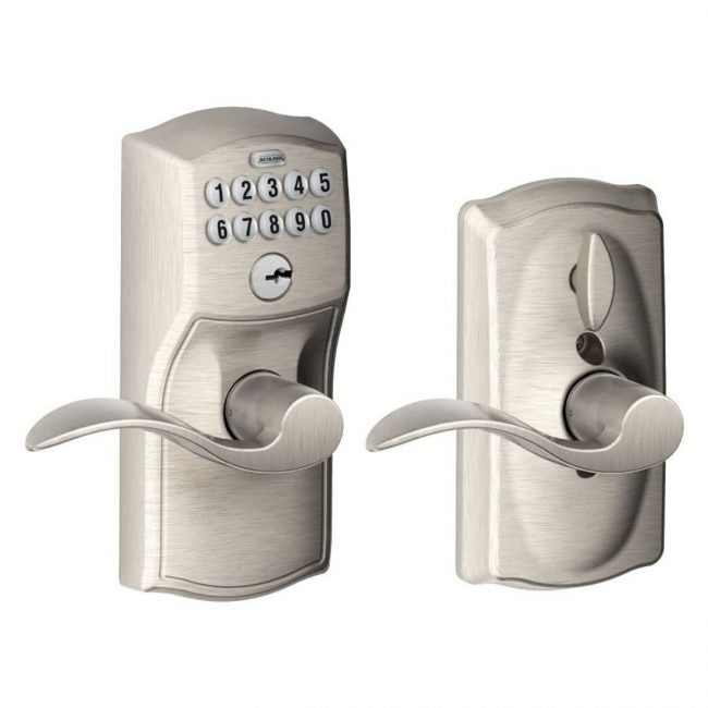 The Best Keypad Door Lock Option: Schlage FE595VCAM619ACC Camelot Keypad Entry