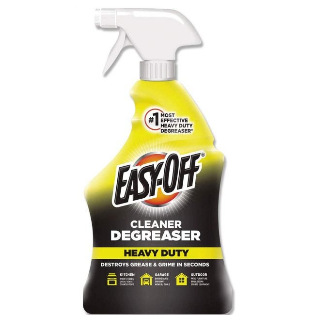 Best Oven Cleaners Options: Easy Off Heavy Duty Degreaser Cleaner Spray