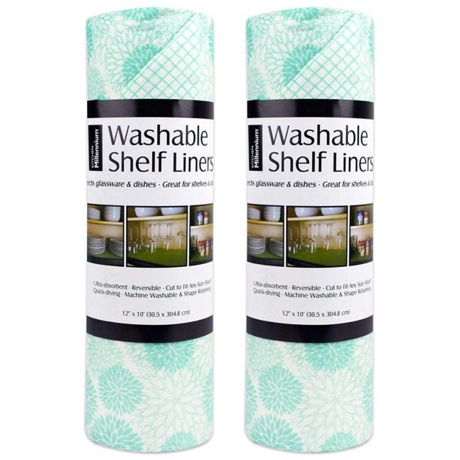 The Best Best Shelf Liner Option: DII Non-Adhesive Cut to Fit Washable Liner Paper