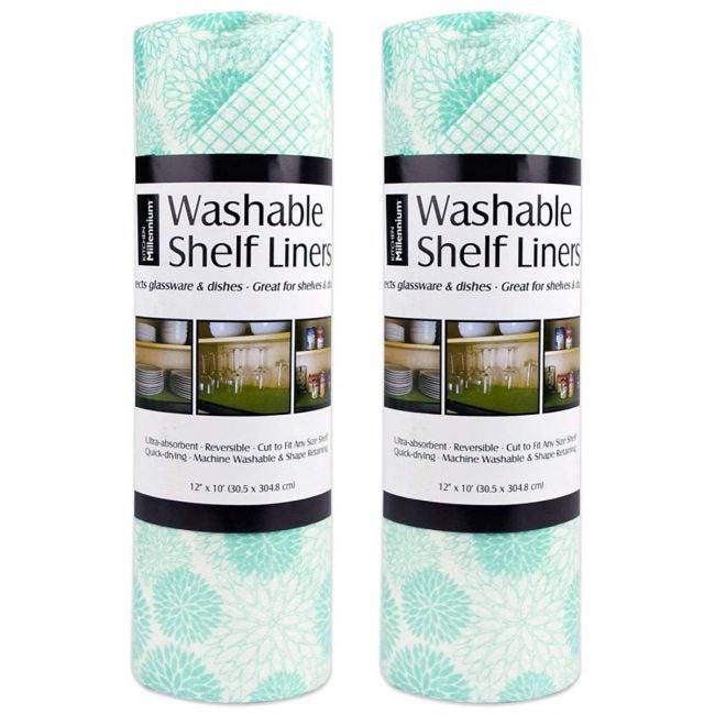 最好的最好的货架衬垫选择:DII非粘合剂切适合水洗衬垫纸