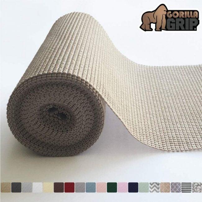 The Best Best Shelf Liner Option: Gorilla Grip Original Drawer and Shelf Liner