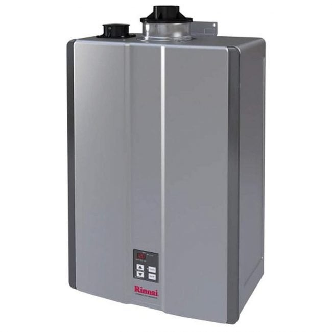 The Best Tankless Water Heater Option: Rinnai RU180iN Sensei Tankless Water Heater