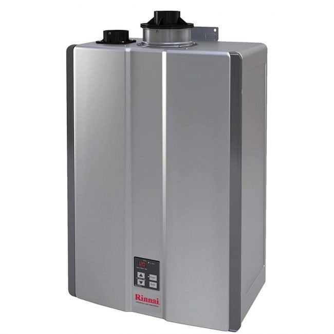 The Best Tankless Water Heater Option: Rinnai RU199iN Tankless Water Heater