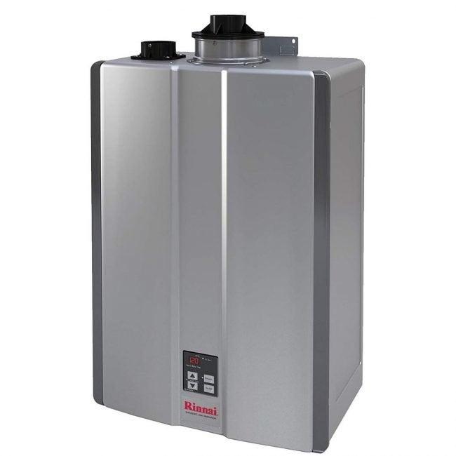 最好的无水热水器选项:Rinnai Ru199英寸无罐热水器