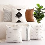 The Best Throw Pillows Option: HOMFINER Decorative Throw Pillow Covers Set of 6