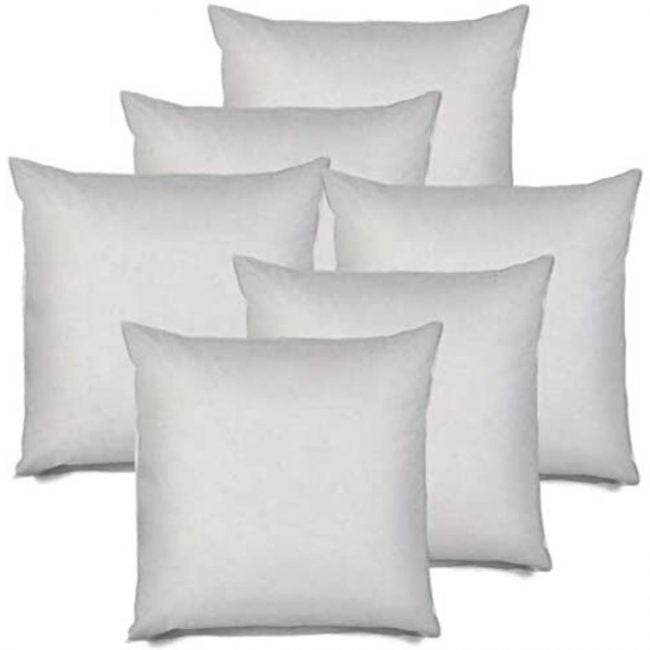 The Best Throw Pillows Option: IZO Hypo-Allergenic Throw Pillow