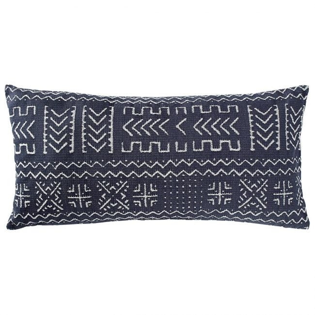 The Best Throw Pillows Option: Rivet Mudcloth-Inspired Decorative Throw Pillow