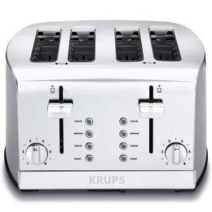 最佳烤面包机选择:克虏伯4片烤面包机