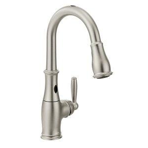 Best Touchless Kitchen Faucet Options: Moen-7185ESRS