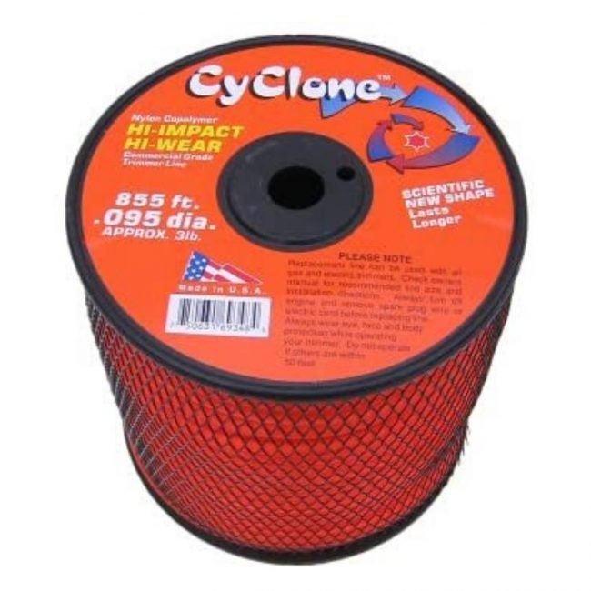 The Best Weed Eater String Option: Cyclone .095-Inch, 6-Blade Trimmer Line 3-Pound Spool