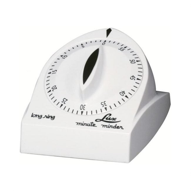 The Best Kitchen Timer Option: Browne 60 Minute Long Ring Timer