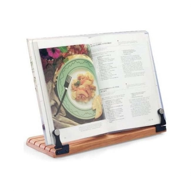 The Best Cookbook Stand Option: Clear Solutions Deluxe Large Cookbook Holder