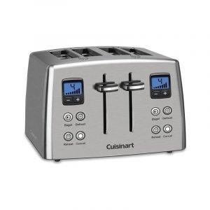 最好的烤面包机选项:Cuisinart倒计时4-Slice Toaster