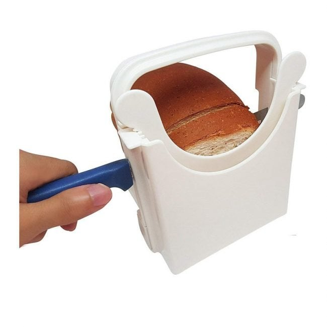 The Best Bagel Slicer Option: Eon Concepts Bread Slicer Guide