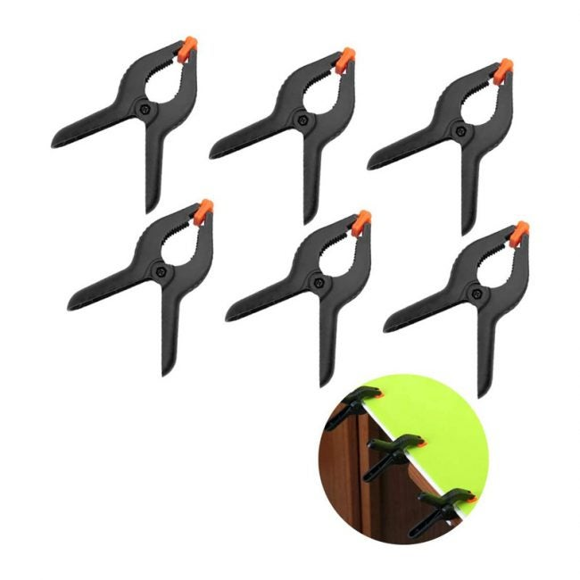 The Best Spring Clamps Option: Evelots 6-Inch Spring Clamps