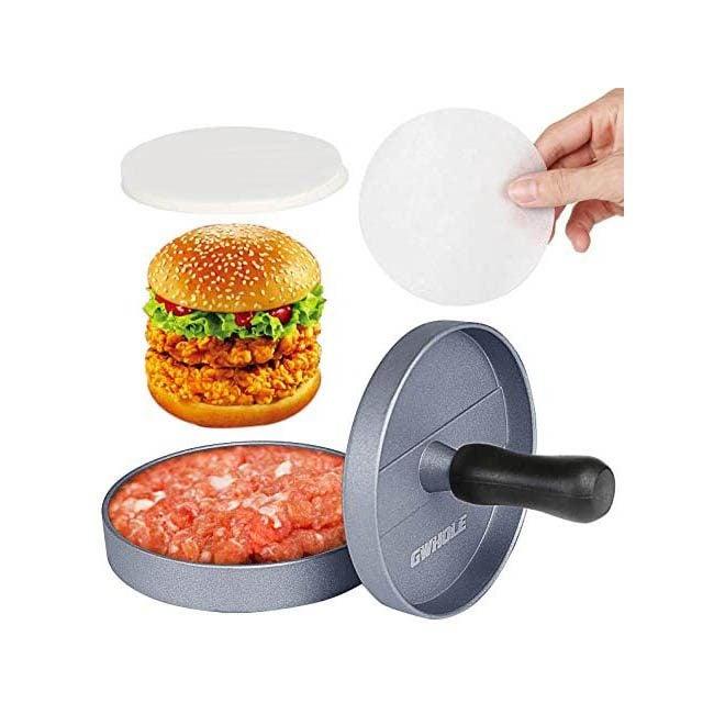 The Best Burger Press Option: GWHOLE Non-Stick Burger Press