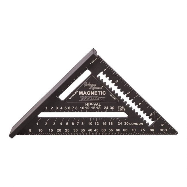 The Best Speed Square Option: Johnson Level & Tool Magnetic Square