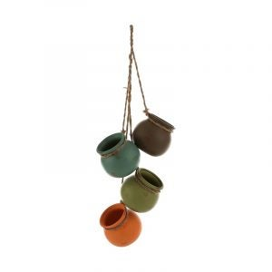 The Best Hanging Planter Option: MyGift Dangling Southwest Hanging Planters