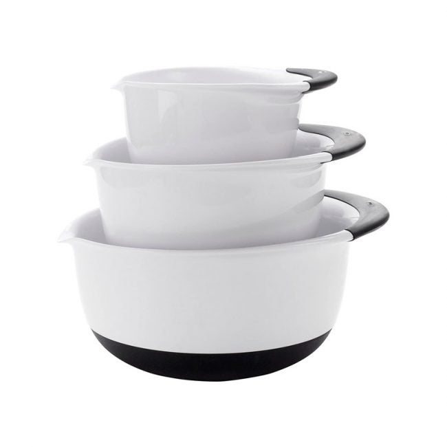 The Best Mixing Bowl Option: OXO Good Grips Mixing Bowl Set