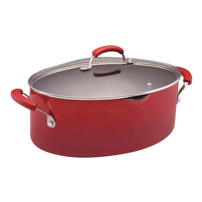 The Best Pasta Pot Options: Rachael Ray Brights Nonstick Pasta Stock Pot