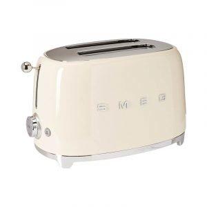 最佳烤面包机选择:Smeg复古风格美学2片烤面包机
