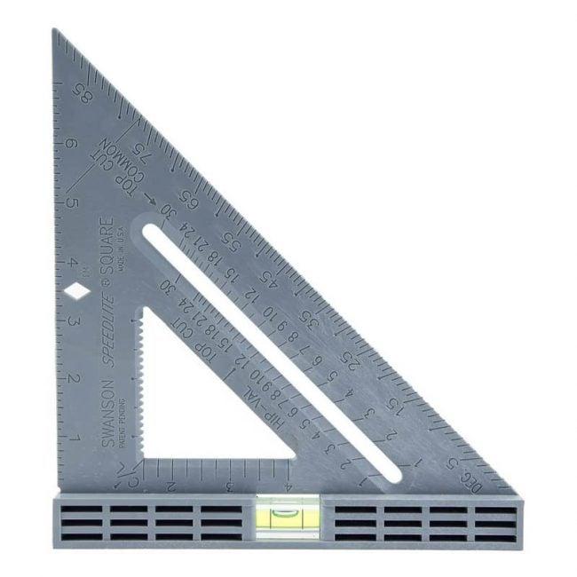 最佳速度广场选项:Swanson工具T0111 SpeedLite级别方形布局工具