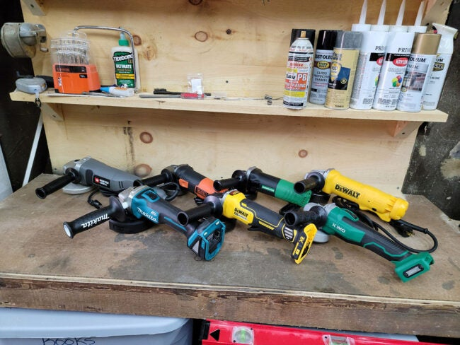 The Best Angle Grinder Options