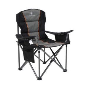 The Best Folding Chair Option: ALPHA CAMP Oversized Camping Folding Steel Frame