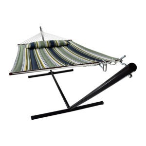 The Best Hammock Option: Sorbus Hammock with Stand and Detachable Pillow