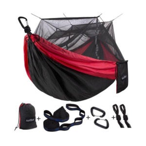 The Best Hammock Option: Sunyear Camping Hammock with Mosquito Bug Net