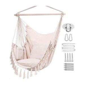 The Best Hammock Option: Y- STOP Hammock Chair Hanging Rope Swing