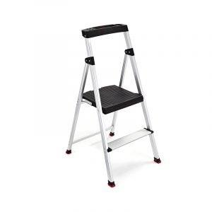 The Best Ladder Option: Rubbermaid Lightweight Aluminum Step Stool