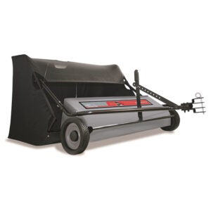 The Best Lawn Sweeper Option: Ohio Steel 50-Inch Pro Sweeper