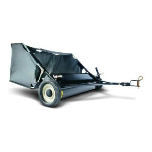 The Best Lawn Sweepers Option: Agri-Fab 45-0320 42-Inch Tow Lawn Sweeper