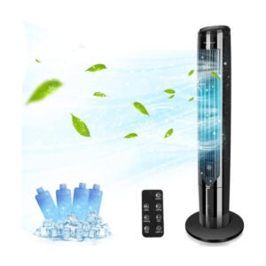 The Best Portable Air Conditioner Option: Aigostar Cooling Tower Fan with Remote