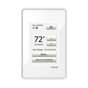The Best Programmable Thermostat Option: Ditra Heat Touchscreen Programmable Floor Heating