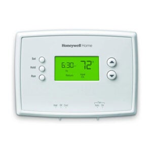The Best Programmable Thermostat Option: Honeywell Home RTH2300B1038 5-2 Day Programmable