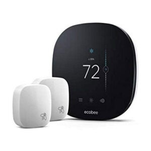 The Best Programmable Thermostat Option: ecobee EB-STATE3LTVP-01 Smart Thermostat