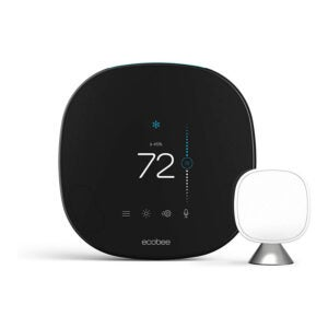 The Best Programmable Thermostat Option: ecobee SmartThermostat with Voice Control