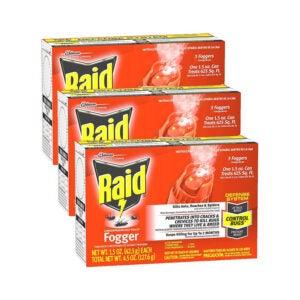 The Best Roach Killer Option: Raid Concentrated Deep Reach Fogger