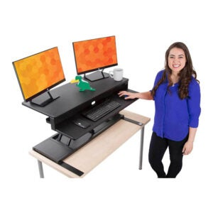 The Best Sit Stand Desk Option: Stand Steady Flexpro Power Electric Standing Desk